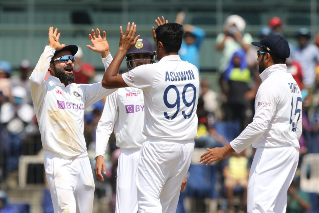 England crumble as India surge